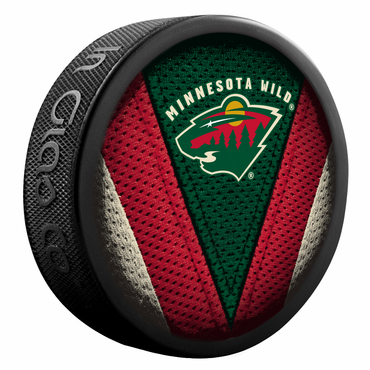 Sherwood NHL Stitch Souvenir Puck - Minnesota Wild