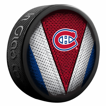 Sherwood NHL Stitch Souvenir Puck - Montreal Canadiens