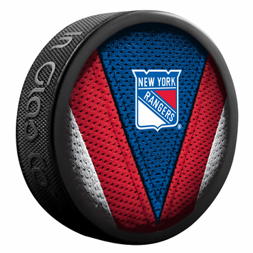 Sherwood NHL Stitch Souvenir Puck - New York Rangers