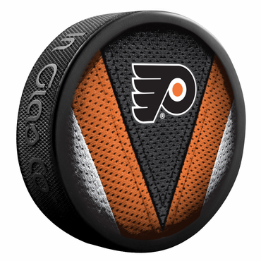 Sherwood NHL Stitch Souvenir Puck - Philadelphia Flyers