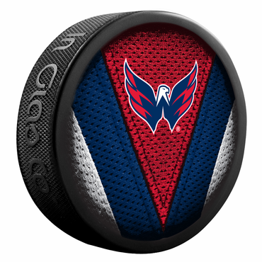 Sherwood NHL Stitch Souvenir Puck - Washington Capitals