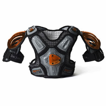 Shock Doctor Smoke 2 Senior Lacrosse Shoulder Pads