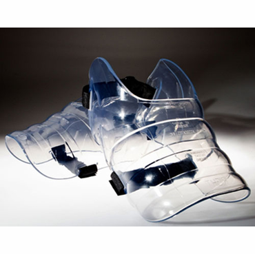 Skate Fender Pro Transparent Hockey Skate Guards