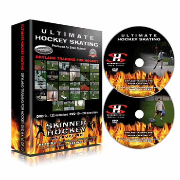 Skinner Ultimate Hockey Skating Dryland Training for Hockey Skating DVD - Disc 9 and 10