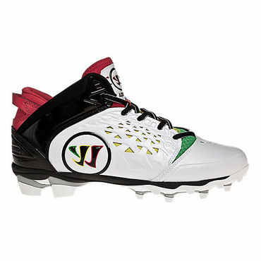 Warrior Adonis Lacrosse Cleats - Rasta - Adult
