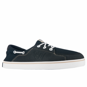 Warrior Coxswain Senior Lifestyle Shoe - Black/White