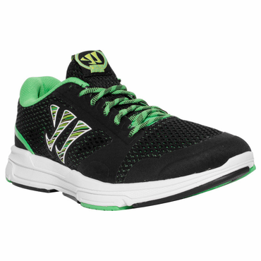 Warrior Dojo Senior Shoes - Black/Green - 2012