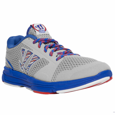 Warrior Dojo Senior Shoes - Grey/Blue - 2012