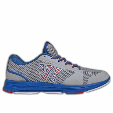 Warrior Dojo Senior Shoes - Gray/Blue - 2012