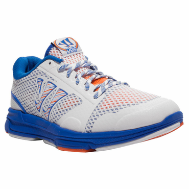Warrior Dojo Senior Shoes - White/Blue - 2012