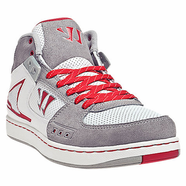 Warrior Hound Dog Senior Shoes - White/Grey/Red - 2012