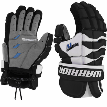 Warrior Hypno 4 Lacrosse Gloves - Youth
