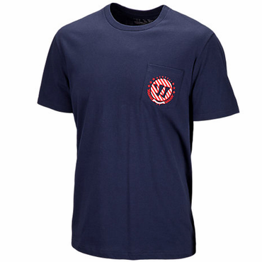 Warrior On A Boat Senior Short Sleeve Hockey Shirt