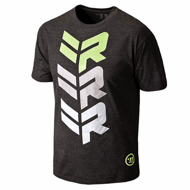 Warrior Adult Rabil Stacked Lacrosse Short Sleeve Shirt