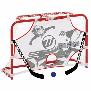 Winnwell Mini Hockey Stick Set w/2 Sticks and Ball