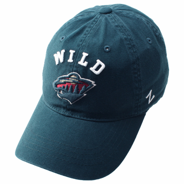 Zephyr Centerpiece Adjustable Hockey Hat - Minnesota Wild