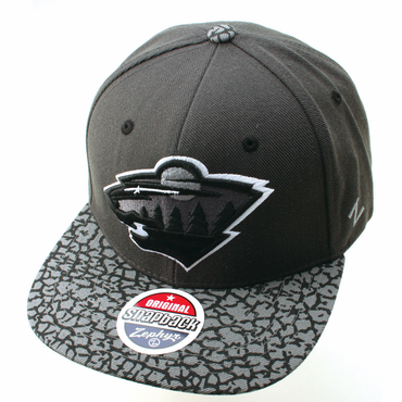 Zephyr Concrete Jungle Snapback Hockey Hat - Minnesota Wild