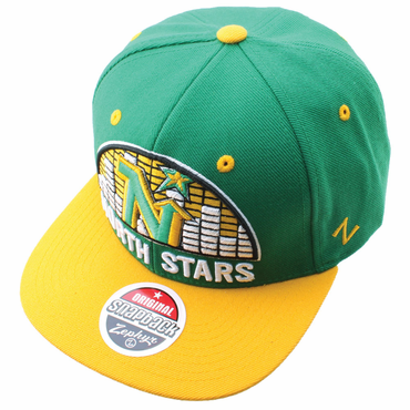 Zephyr Equalizer 32/5 Snapback Hockey Hat - Minnesota North Stars