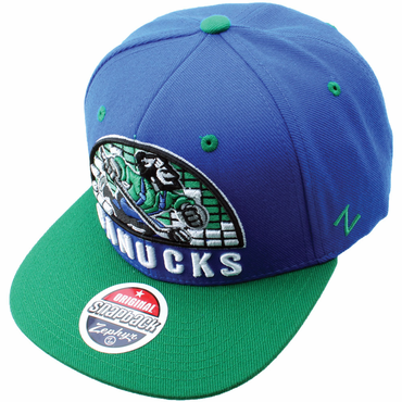 Zephyr Equalizer 32/5 Adjustable Hockey Hat - Vancouver Canucks