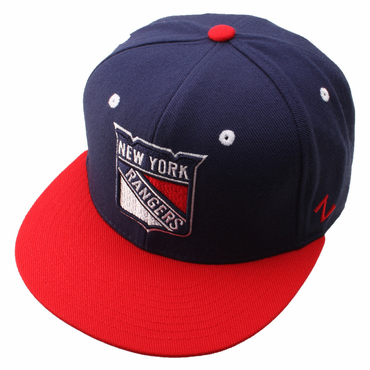 Zephyr Forecheck Fitted Hockey Hat - New York Rangers