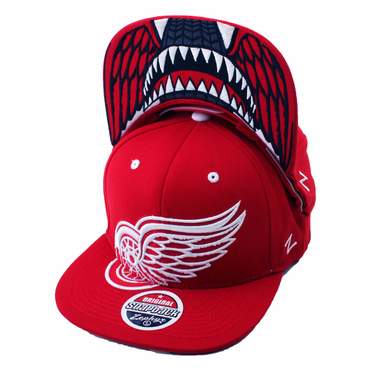 Zephyr Menace Snapback Hockey Hat - Detroit Red Wings