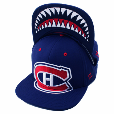 Zephyr Menace Snapback Hockey Hat - Montreal Canadiens