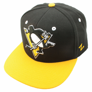Zephyr Program 32/5 Fitted Hockey Hat - Pittsburgh Penguins