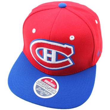 Zephyr Refresh Snapback Hockey Hat - Montreal Canadiens