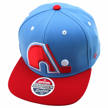 Zephyr Refresh Snapback Hockey Hat - Quebec Nordiques