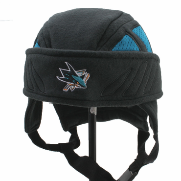 Zephyr Rink Rat II Adjustable Youth Hockey Hat - San Jose Sharks