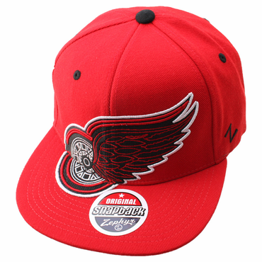 Zephyr Scoundrel Adjustable Hockey Hat - Detroit Red Wings