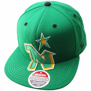 Zephyr Scoundrel Snapback Hockey Hat - Minnesota North Stars