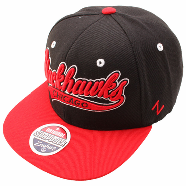 Zephyr Swoop Snapback Hockey Hat - Chicago Blackhawks