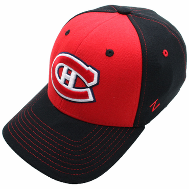 Zephyr Uppercut Fitted Hockey Hat - Montreal Canadiens