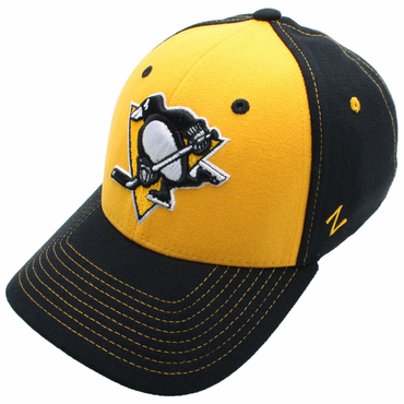 Zephyr Uppercut Fitted Hockey Hat - Pittsburgh Penguins