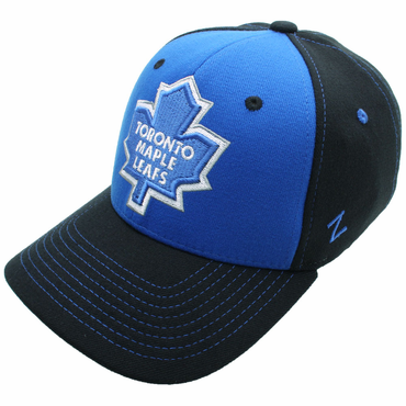 Zephyr Uppercut Fitted Hockey Hat - Toronto Maple Leafs