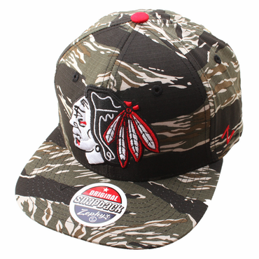 Zephyr Urban Jungle Snapback Hockey Hat - Chicago Blackhawks