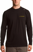 Beaver Falls Long Sleeve Crew Neck � Black