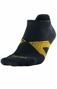 LIVESTRONG  Dri-FIT Cushioned No-Show Socks - Black