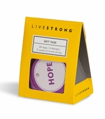 LIVESTRONG Gift Tags