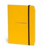 LIVESTRONG Lined Journal - Yellow