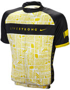 Men's LIVESTRONG Cycling Jersey - Yellow