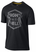 Men�s LIVESTRONG Dri-FIT �Fight Like Hell� Tee - Black