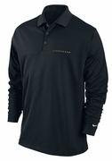 Men�s LIVESTRONG Dri-FIT Long-Sleeve Solid Polo Shirt - Black