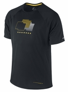 Men's LIVESTRONG Dri-FIT Miler Shirt - Black