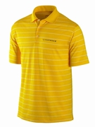 Men's LIVESTRONG Dri-FIT Striped Polo Shirt - Yellow