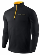 Men's LIVESTRONG Element 1/2 Zip - Black