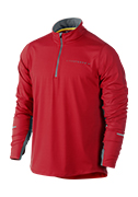 Men's LIVESTRONG Element 1/2 Zip - Red