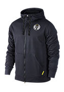 Men's LIVESTRONG Full-Zip Sphere KO Hoodie - Black