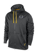 Men's LIVESTRONG Full-Zip Sphere KO Hoodie - Grey Heather